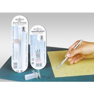 5 Ersatzklingen für Bastelmesser
