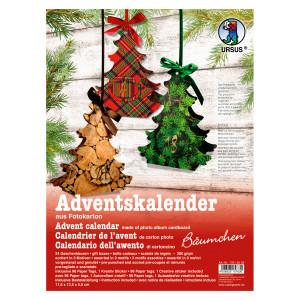 """Adventskalender """"Bäumchen"""""""