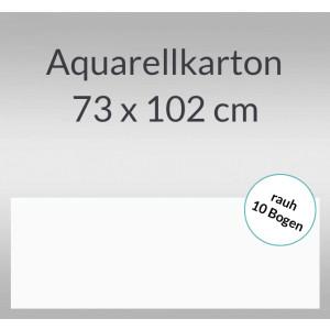 Aquarellkarton rauh 200 g/qm 73 x 102 cm