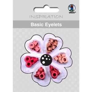 Basic Eyelets 3 mm rosa
