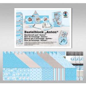 """Bastelblock """"Baby Anton"""" 24 x 34 cm"""
