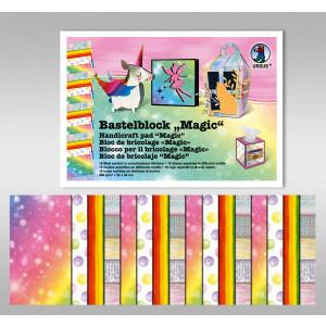 "Bastelblock ""Magie"" 24 x 34 cm - 16 Blatt"