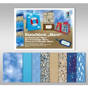 "Bastelblock ""Mare"" 24 x 34 cm - 16 Blatt"