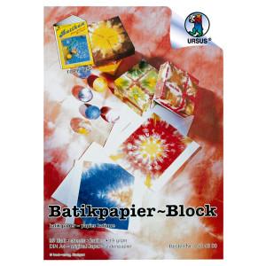 Batikpapier 19 g/qm DIN A4 - 25 Blatt