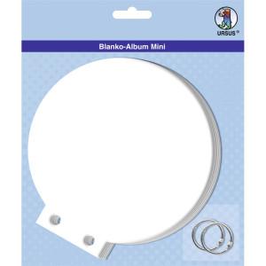 "Blanko-Album ""mini"" Rund"