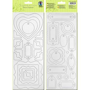 """Blanko-Chipboard """"Formen 1"""""""
