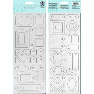 """Blanko-Chipboard """"Formen 2"""""""