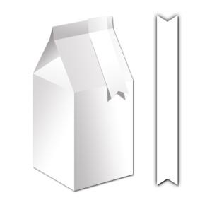"""Blanko-Geschenkbox """"Bella"""" 300 g/qm"""
