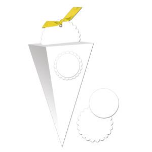 """Blanko-Geschenkbox """"Chiara"""" 300 g/qm"""
