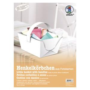 Blanko-Henkelkörbchen 300 g/qm