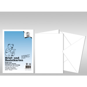 "Briefumschlag ""Dreams of paper"" DIN B6 - 50 Stück"