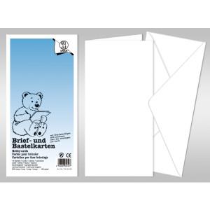 "Briefumschlag ""Dreams of paper"" DIN lang - 50 Stück"