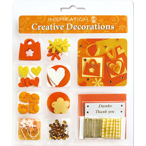 "Creative Decorations ""Everyday"" orange/gelb"