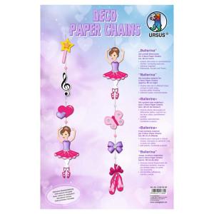 Deco Paper Chains Ballerina