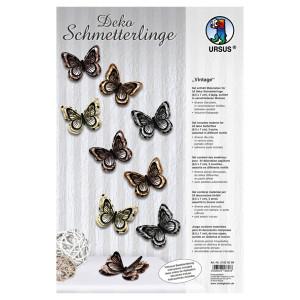 "Deko Schmetterlinge ""Vintage"""
