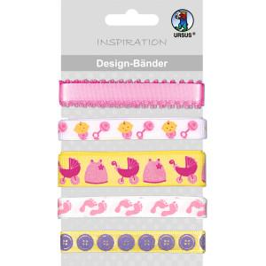 """Design-Bänder """"Baby"""" Mädchen"""