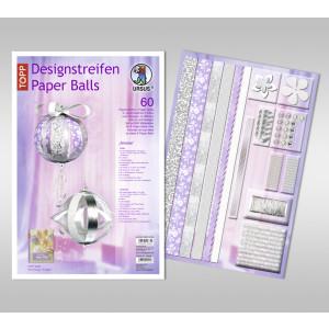 """Designstreifen Paper Balls """"Amelie"""""""