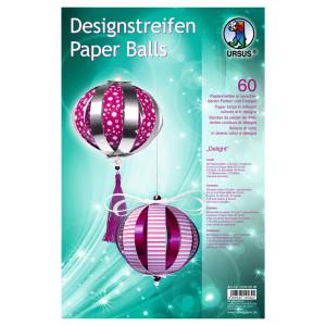 """Designstreifen Paper Balls """"Delight"""""""
