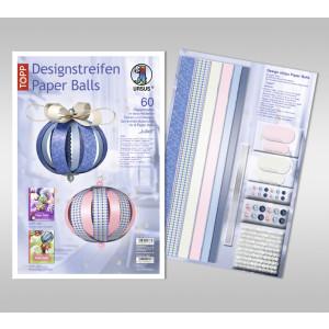 """Designstreifen Paper Balls """"Juliet"""""""