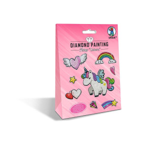 "Diamond Painting Sticker ""Unicorn"""