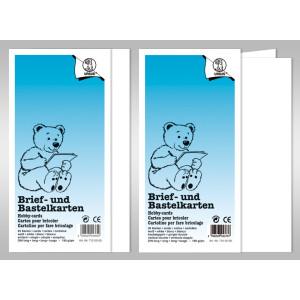 "Doppelkarte ""Dreams of paper"" DIN lang - 50 Stück"