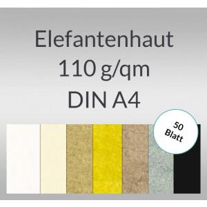 Elefantenhaut 110 g/qm DIN A4 - 50 Blatt