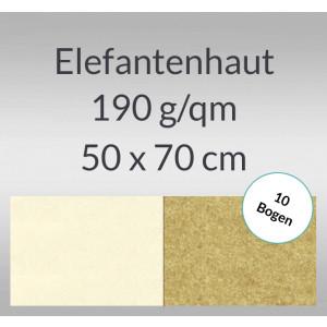 Elefantenhaut 190 g/qm 50 x 70 cm - 10 Bogen