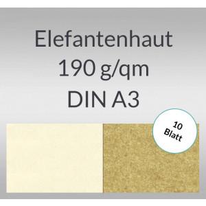 Elefantenhaut 190 g/qm DIN A3 - 10 Blatt