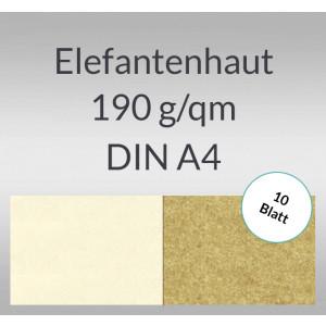 Elefantenhaut 190 g/qm DIN A4 - 10 Blatt