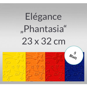 """Elegance """"Phantasia"""" 220 g/qm 23 x 32 cm - 5 Blatt"""