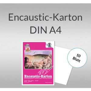 Encaustic-Karton Block 300 g/qm DIN A4 - 10 Blatt