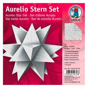 """Faltblätter Aurelio-Stern """"Orient"""" 14,8 x 14,8 cm"""