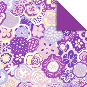 "Faltblätter Florentine ""Flower Power"" 10 x 10 cm - 65 Blatt - Motiv 1"
