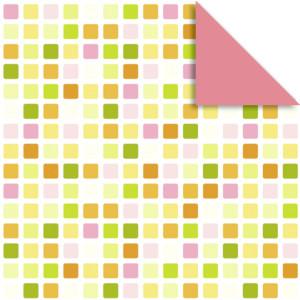 """Faltblätter Florentine """"Mosaik"""" 10 x 10 cm - 65 Blatt -  Motiv 1"""
