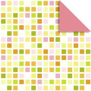 """Faltblätter Florentine """"Mosaik"""" 15 x 15 cm - 65 Blatt - Motiv 1"""