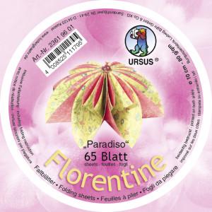 """Faltblätter Florentine """"Parasido""""  ø 10 cm"""