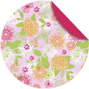 """Faltblätter Florentine """"Springtime"""" ø 10 cm - Motiv 1"""