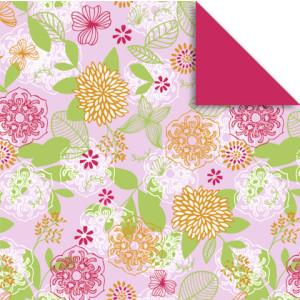 """Faltblätter Florentine """"Springtime"""" 10 x 10 cm - 65 Blatt - Motiv 1"""