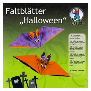 "Faltblätter ""Halloween 2"" 20 x 20 cm - 120 Blatt"
