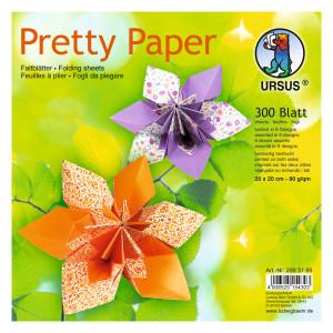 "Faltblätter ""Pretty Paper"" 20 x 20 cm - 300 Blatt"