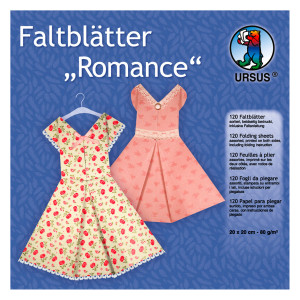 "Faltblätter ""Romance"" 20 x 20 cm - 120 Blatt"