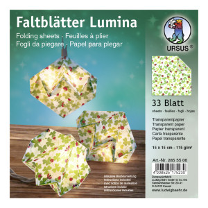 """Faltstreifen """"Lumina"""" Glückskäfer Motiv 1"""
