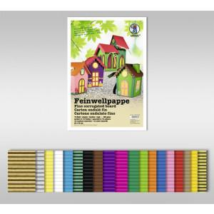 Feinwellpappe 300 g/qm 50 x 70 cm - 10 Bogen