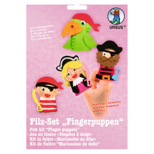 """Filz-Set """"Fingerpuppen"""" Abenteuer"""