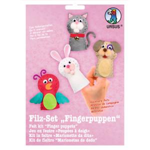 "Filz-Set ""Fingerpuppen"" Haustiere"