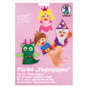 """Filz-Set """"Fingerpuppen"""" Märchen"""