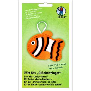 """Filz-Set """"Glücksbringer"""" Fisch"""