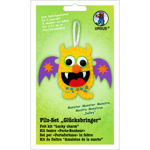 "Filz-Set ""Glücksbringer"" Monster Sulley"