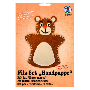 """Filz-Set """"Handpuppe"""" Bär"""