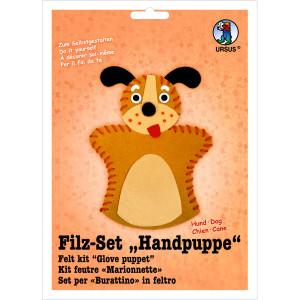 "Filz-Set ""Handpuppe"" Hund"